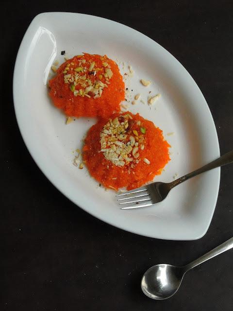 Carrot Mawa Burfi, Carrot Barfi