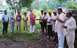 सेवा सप्ताह के दौरान जिले के 20 से अधिक स्थानों पर बांटे दिव्यांगो को चश्मे