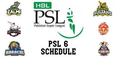 PSL 6 Schedule | Pakistan Super League 2021 | PSL 6 Update
