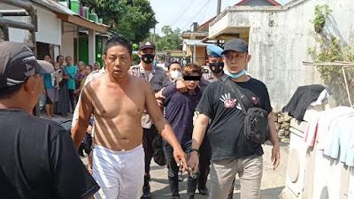 Penjambret Kalung Tertangkap Warga, Pelaku Diamankan Polsek Padamara