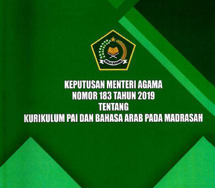 (Terbaru) KMA Nomor 183 Tahun 2019