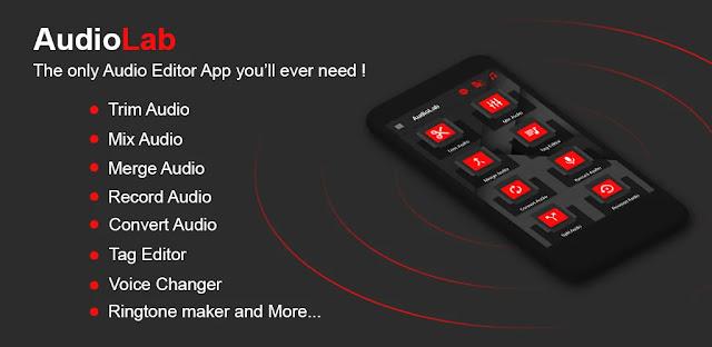 تنزيل AudioLab-Audio Editor Recorder & Ringtone Maker محرر صوت  حديث ومتقدم للاندرويد