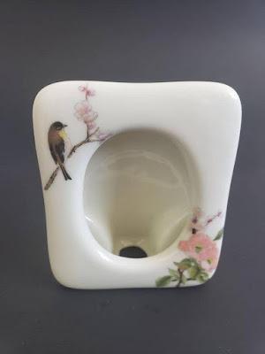 Takahashi SanFrancisco Japanese porcelain floral pattern picture frames