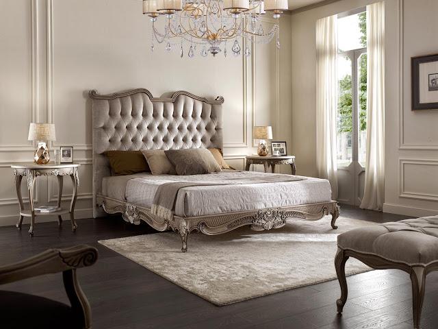 Vẻ đẹp xa hoa của mẫu giường ngủ phong cách cổ điển