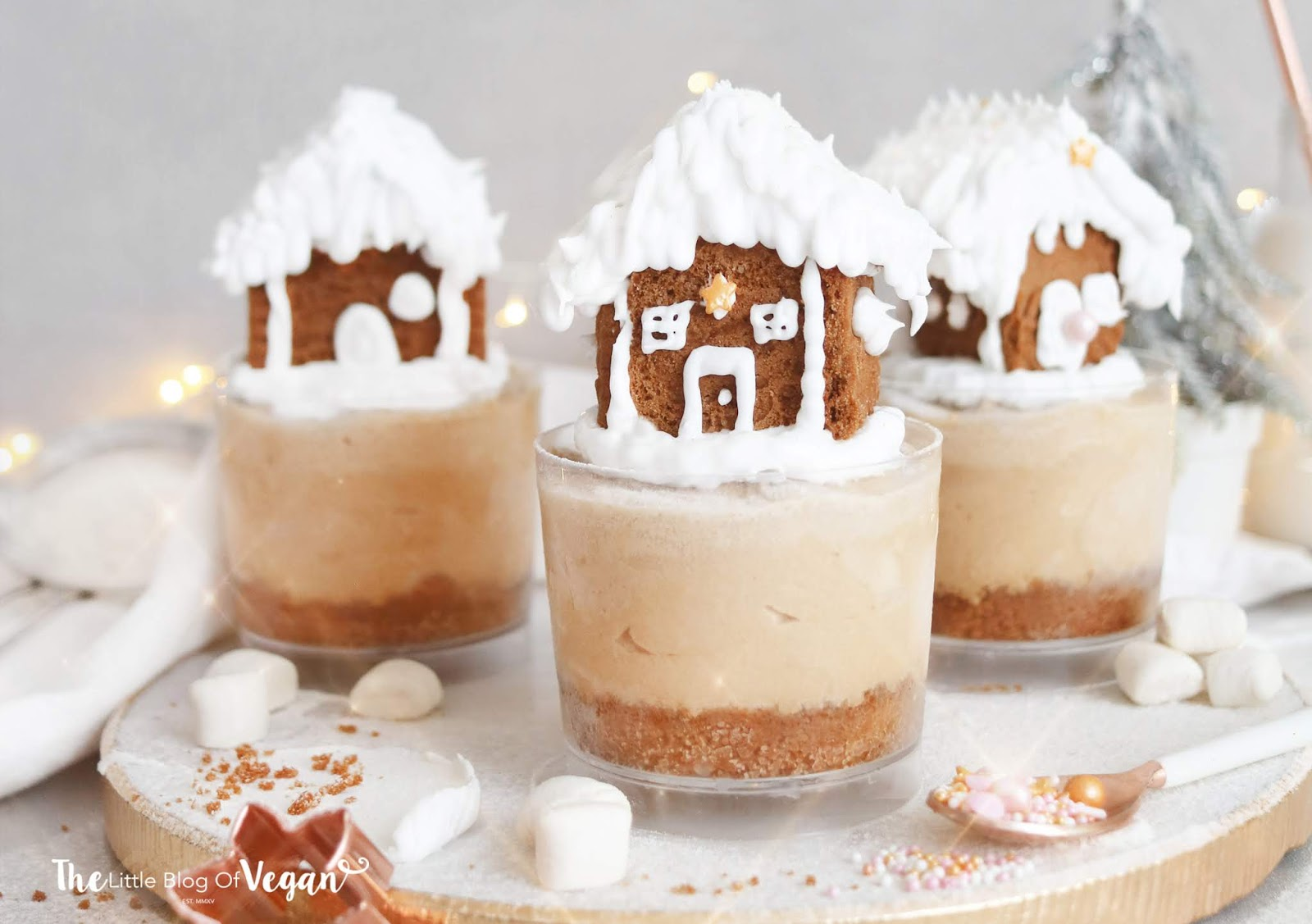 Easy Biscoff cheesecake pots recipe