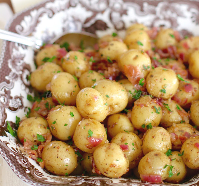 The Country Cook: Warm Bacon Potato Salad