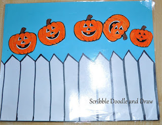 Halloween hands on learning with interactive story re-telling with velcro pumpkins