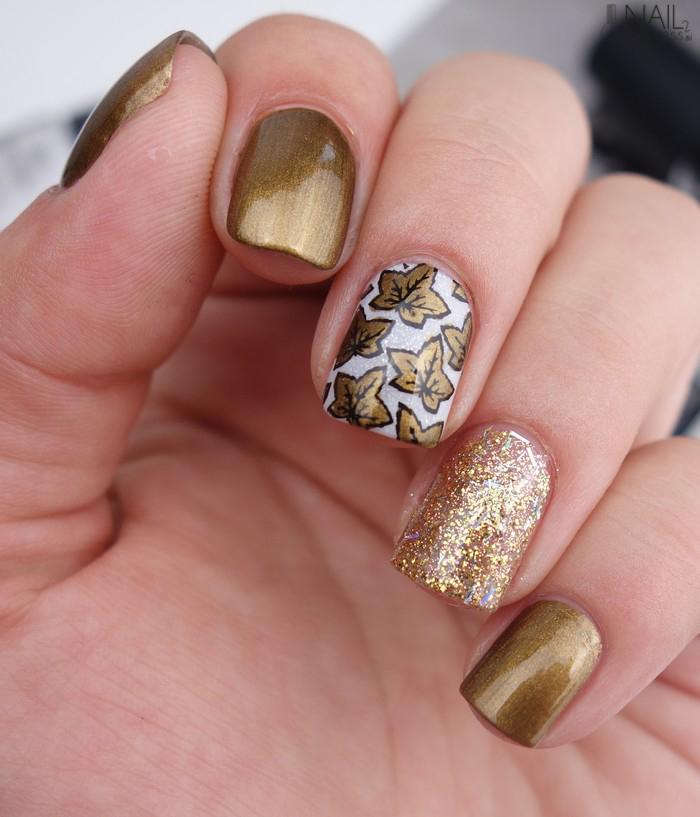 Jesenska zlata manikira