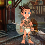 Play Games4King Cute Tribe Boy…