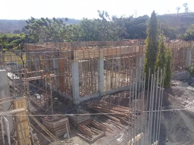 Ini Progres pembangunan Masjid Kantor Walikota