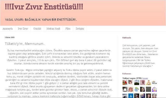 Ivır Zıvır Enstitüsü Röportaj