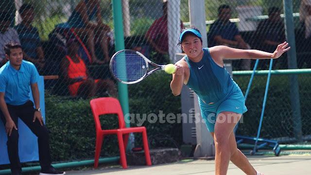 Turnamen Tenis Pertamina 25K ITF Women's Circuit: Jessy Rompies Paksa Unggulan Teratas Berlaga Tiga Set