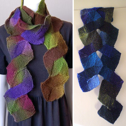 Ten Stitch Scarf - Free Pattern