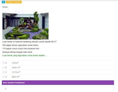 Kumpulan Soal AKM SD NUMERASI PDF dan Kunci Jawaban