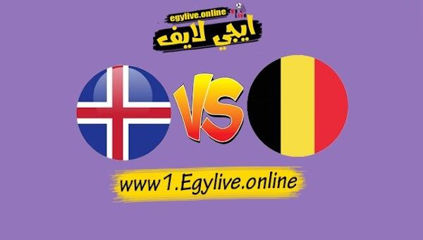نتيجه مباراة بلجيكا وأيسلندا بث مباشر اليوم بتاريخ 08-09-2020 في دوري الأمم الأوروبية