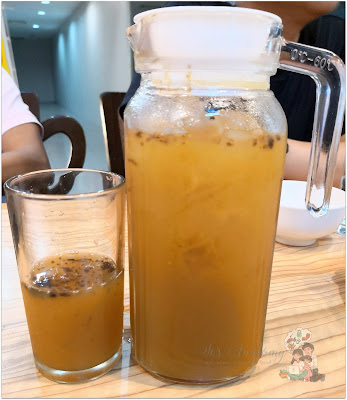Ka Tunyings Cafe Dalandan Ginger Iced Tea