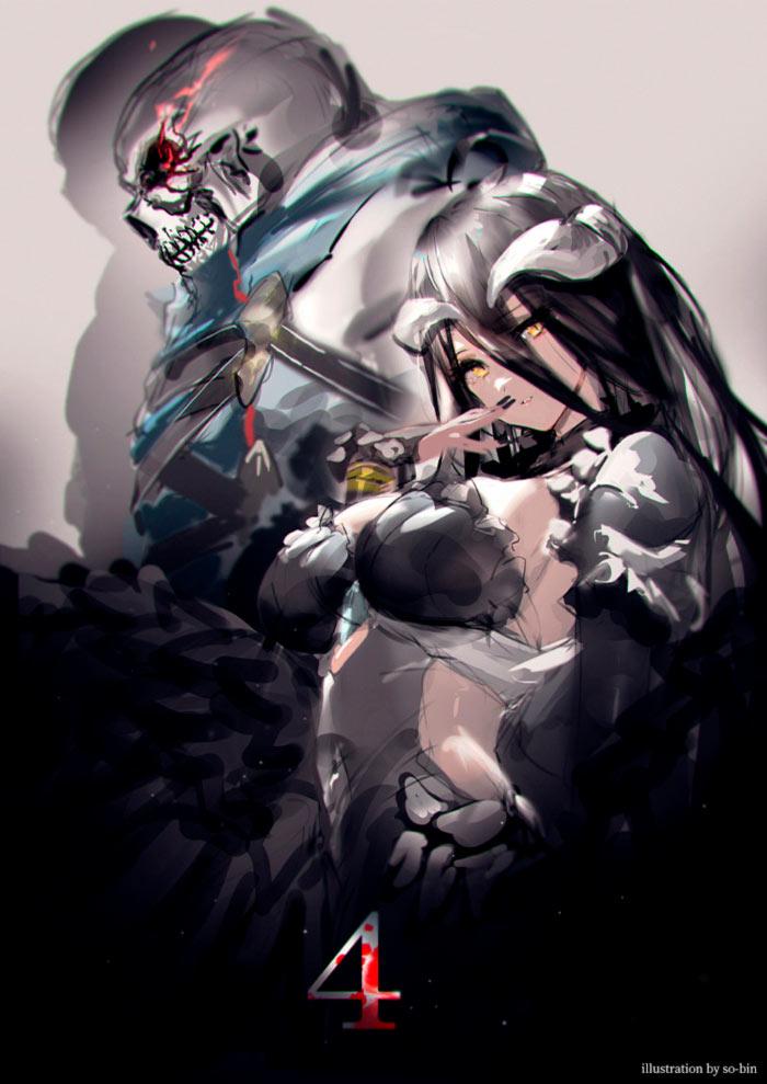 Overlord IV anime - Ilustración de so-bin