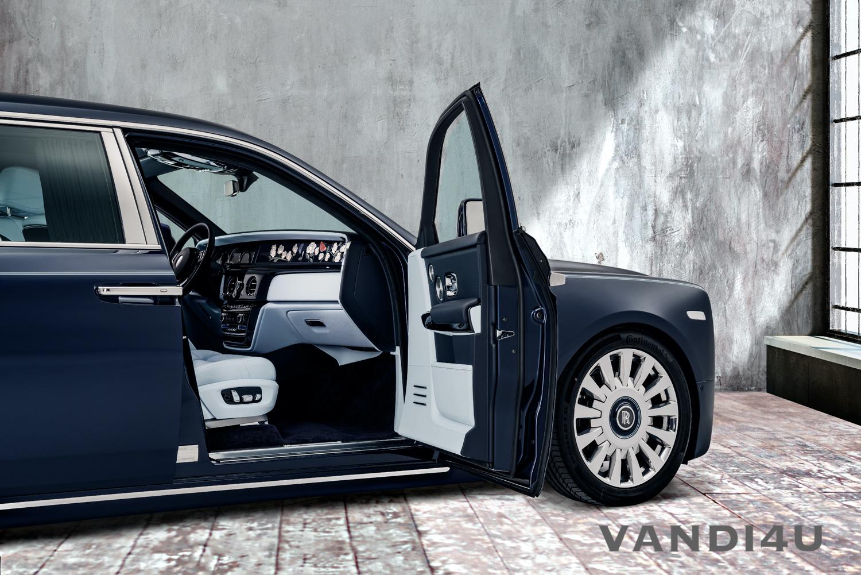 Rolls-Royce Rose Phantom unveiled   VANDI4U