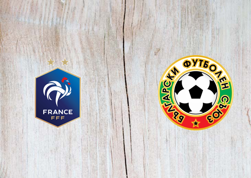 France vs Bulgaria -Highlights 08 June 2021