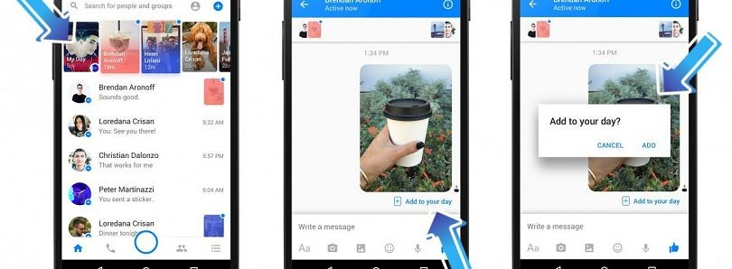 Cara Disable Facebook Messenger Day di Android