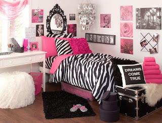 dormitorio fucsia negro