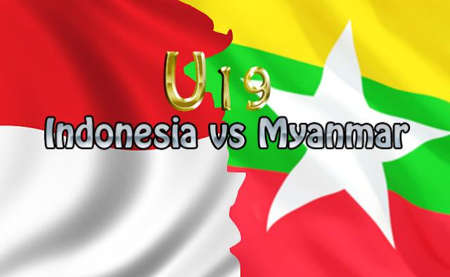 LIVE SCORE HASIL TIMNAS INDONESIA VS MYANMAR SKOR Akhir 2-3 FT : Piala AFF U-19 2016 Hari Ini