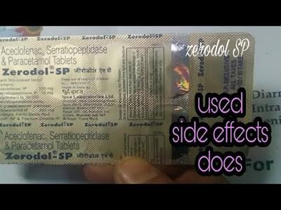 Zerodol IN HINDI | Medicine zerodol sp kaise kam karta hai | Zerodol sp dosage |