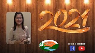 Mensagem de ano novo da Vereadora Silvana