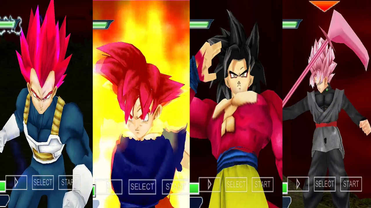 DBZ TTT MOD Download PPSSPP ISO