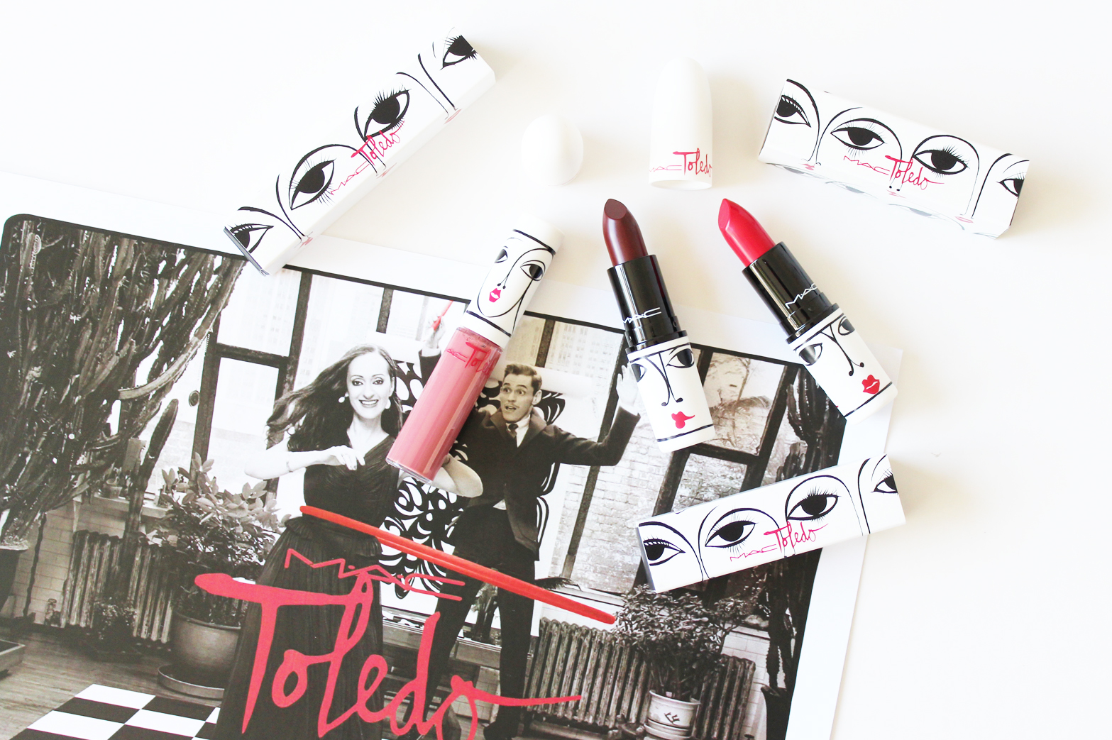 M.A.C x TOLEDO COLLECTION | Review + Swatches - CassandraMyee