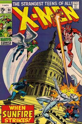 X-Men #64, Sunfire