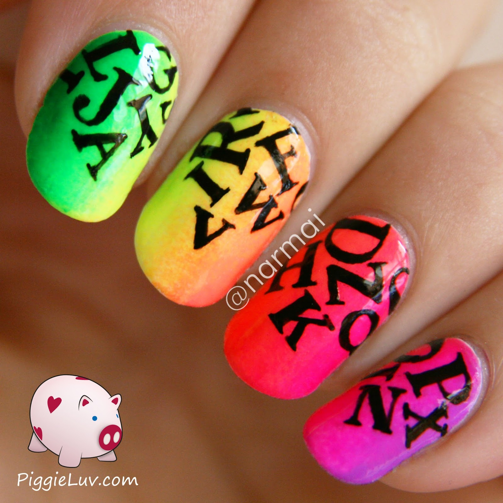 Hand Painted Nail Art Simple: Easy Hand Painted Nail Designs