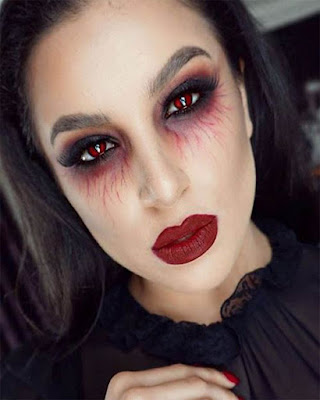 Horror makeup halloween