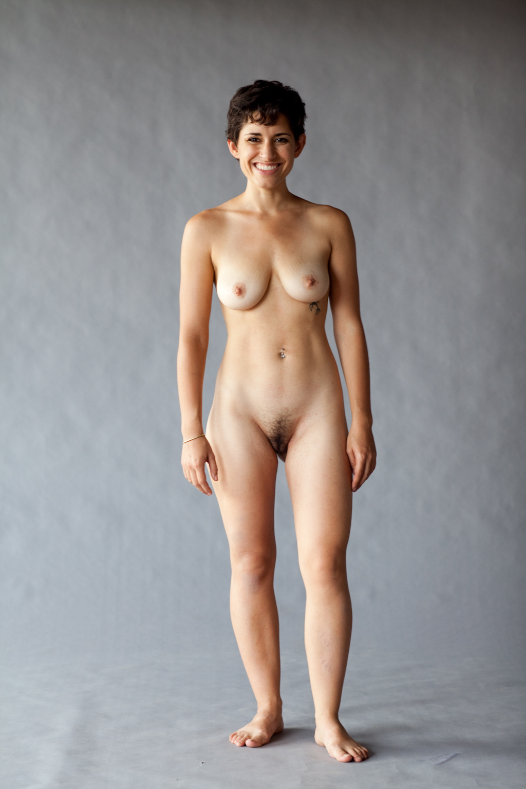 Modelling in the nude