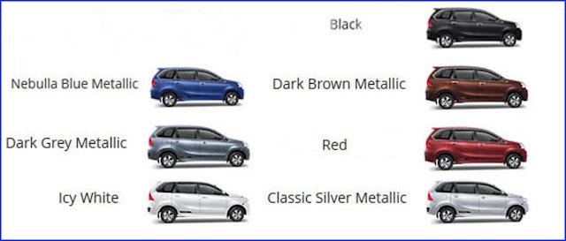 Warna sigra, Warna Daihatsu sigra, Warna mobill sigra, Warna new sigra
