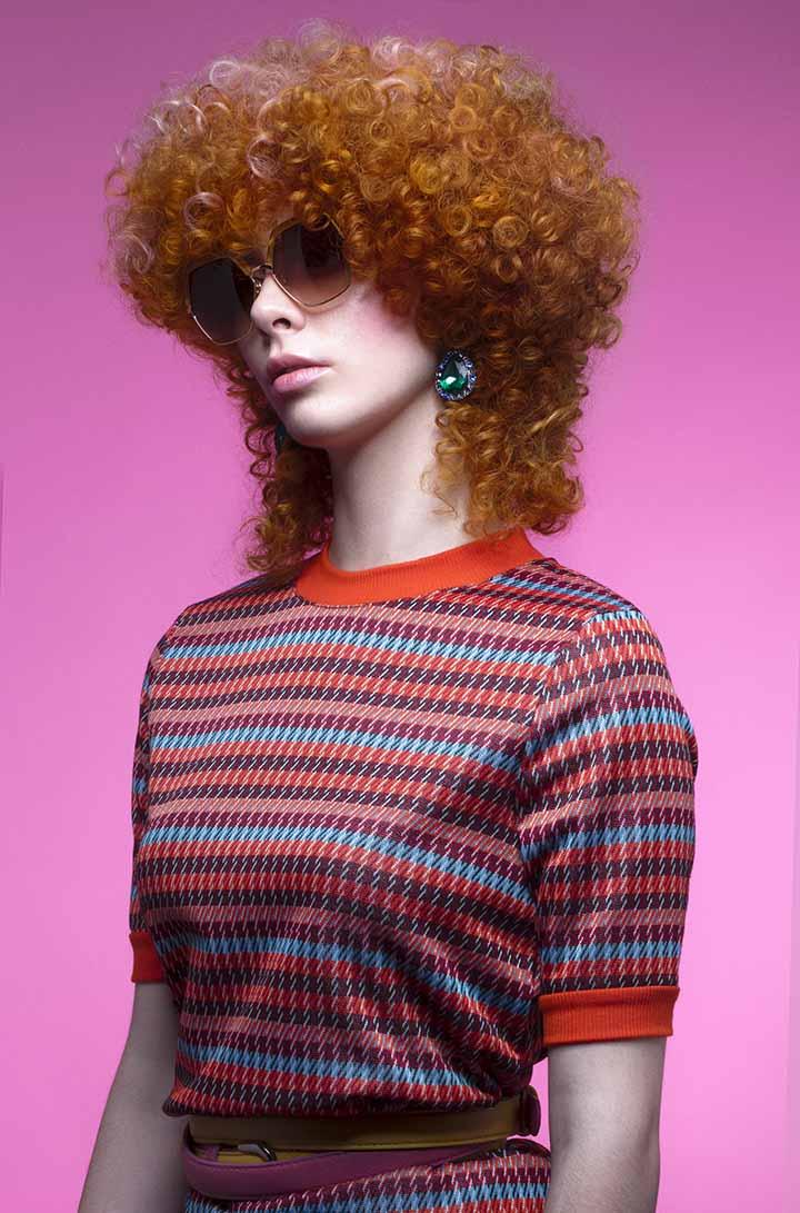 color de pelo rojizo naranja 2020