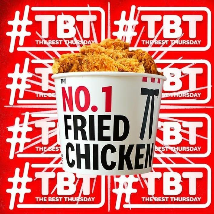Promo KFC TBT - The Best Thursday Hari Ini