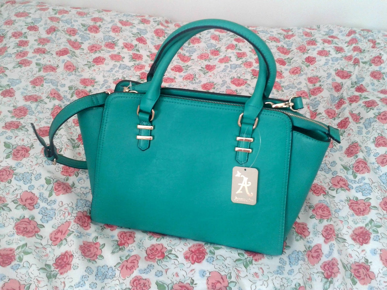 Accessorize Georgia Winged Handbag Green Sale Haul Summer