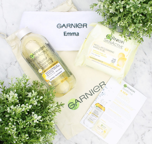 Garnier Micellar Cleansing Water in Oil Wipes makeup remover waterproof