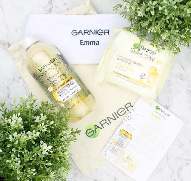 Garnier Micellar Cleansing Water in Oil Wipes makeup remover waterproof