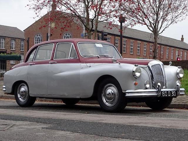 Daimler Majestic Major 1960s British classic saloon car