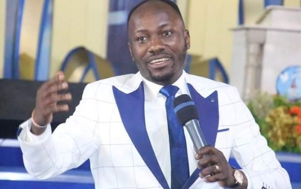 Trouble Looms As Apostle Suleiman Is Accused Of Cheating With A Pastor's WIfe