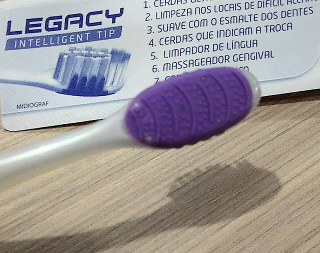 Escovas, Escovação, Hábitos Saudáveis, Saudável, Dentes, Cuidados, Recebido, Resenha, Legacy Intelligent Tip, Dentalclean