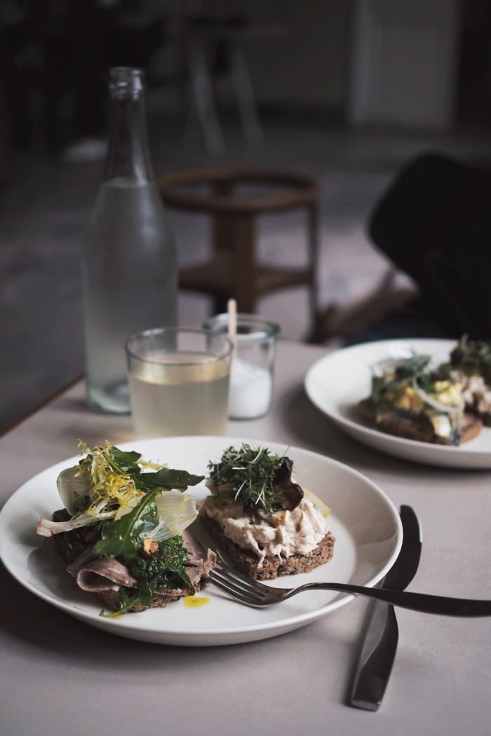Restaurant de smørrebrød à Copenhague