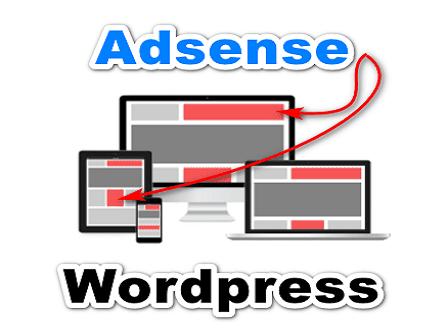 Cara pasang iklan adsense di wordpress