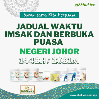Jadual Waktu Imsak Dan Berbuka Puasa Negeri Johor 1442H