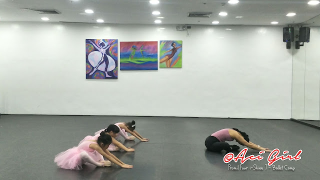 Ballet Camp i-Shiners