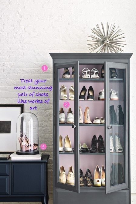 Clustered Closets Shoe Obsession