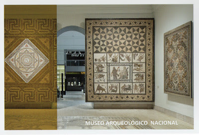 Tarjeta prefranqueada del Museo Arqueológico Nacional