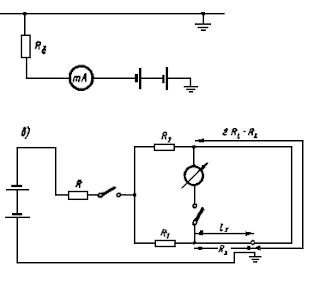 Схемы определения места повреждения электрических кабелей